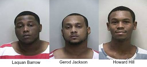 Three criminals in Silver Springs Shores commit violent crimes