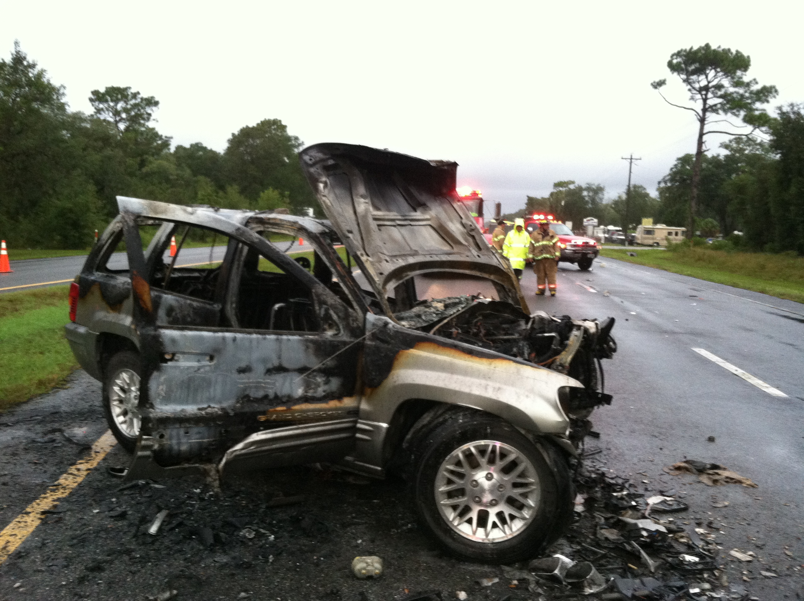Ocala Post Levy County Fatal Crash Leaves Two Dead One