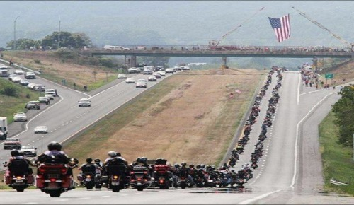 Two Million Bikers To Washington D.C. Rally