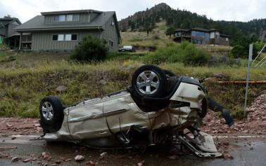 More Rain Adds To Denver Colorado Flooding