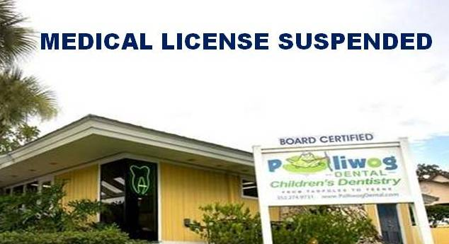 Medical license suspended for Polliwog Dental owner, Michael Tarver