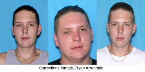 Public Safety Alert: Ryan Arrandale Escaped From Florida Department of Corrections