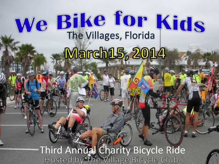 We Bike For Kids Charity Ride In The Villages