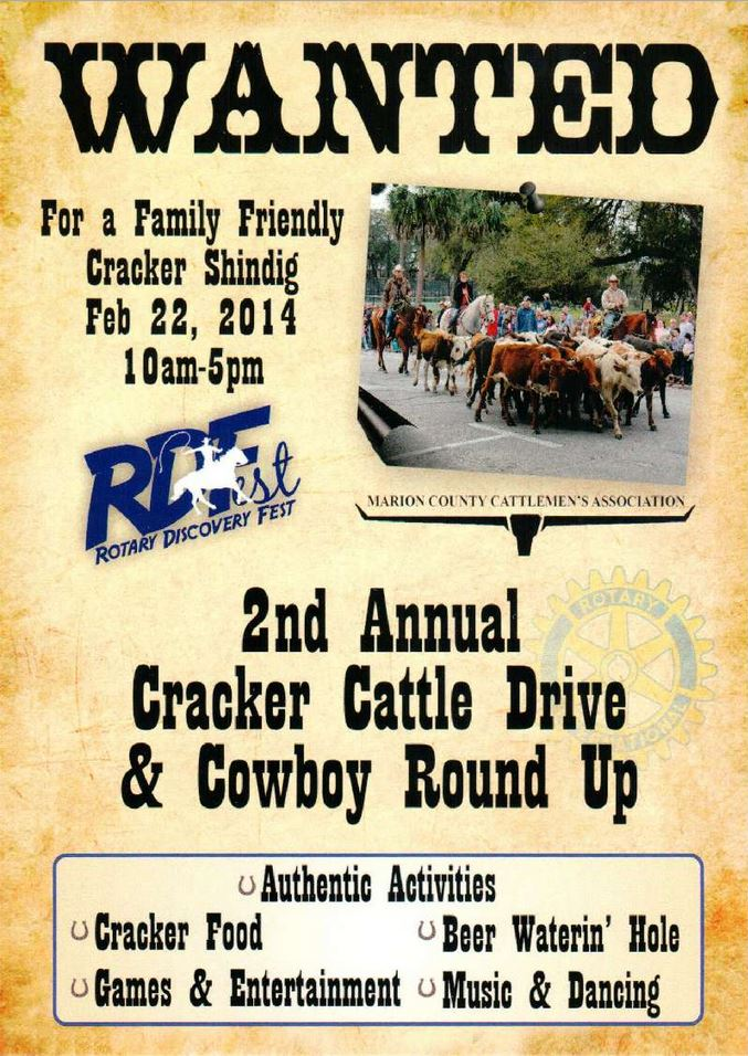 Cracker Cattle Drive