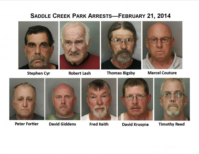 Nine Sickos Taken Off The Streets Of Florida