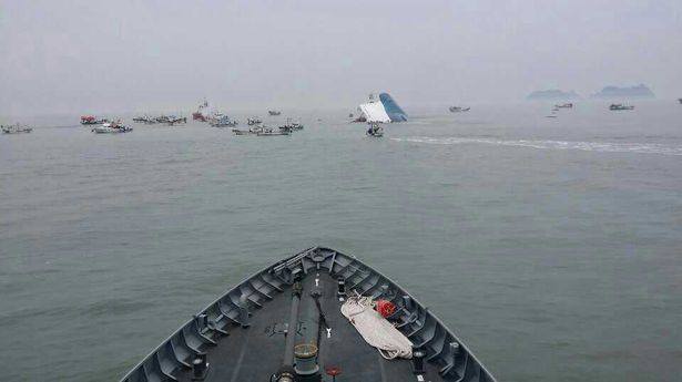 South Korean Ship Sinking