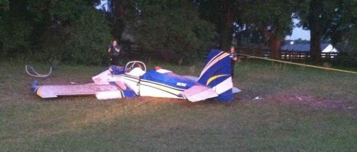 Summerfield Plane Crash Kills Two During Movie Filming