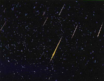 Meteor Shower In The Forecast