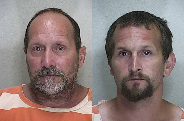 Father and son arrested for littering