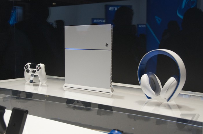 Glacier-White PlayStation 4 and more