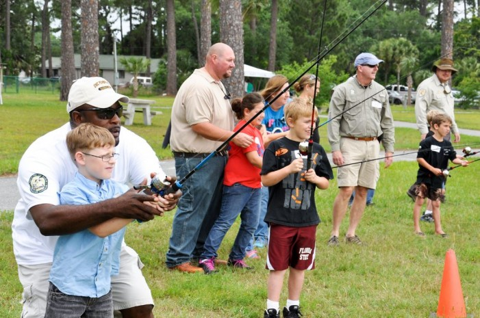 Free fishing clinic for kids