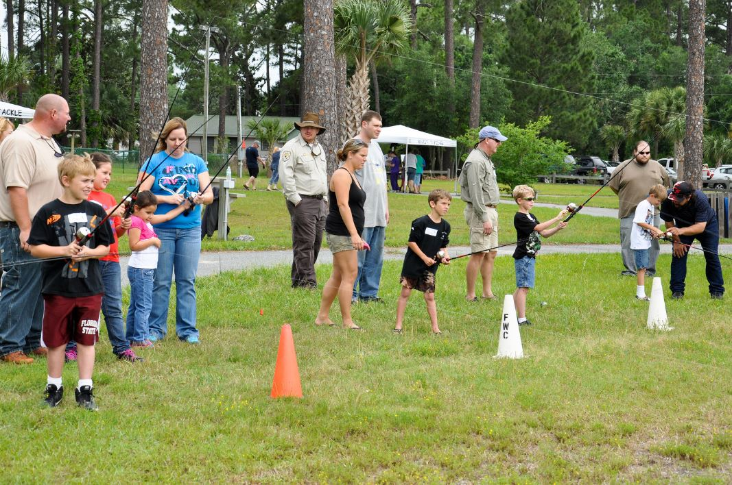 Kids Fishing Derby, Ocala, FWC