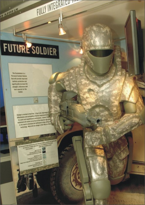 Future soldier suit
