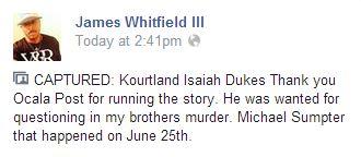 michael sumpter, ocala news, citra shootings, marion county news