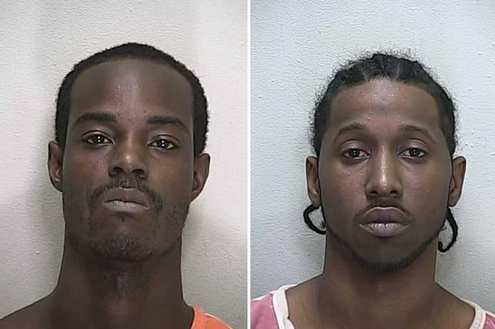 Malik Jones [left] and Rickey Brown [Mugshots], belleview shooting