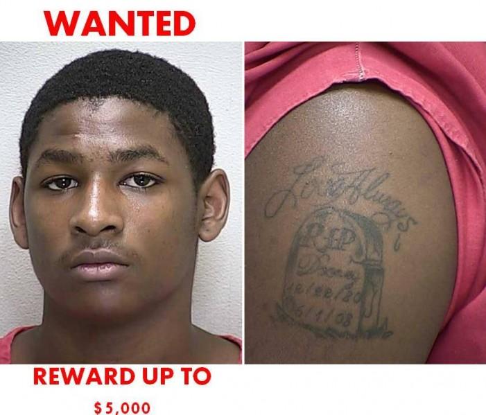 REWARD: Citra shooting suspect on the run