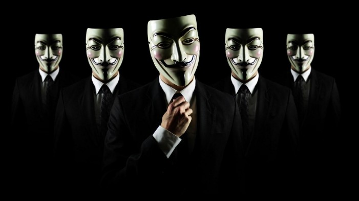 Anonymous promises to take action against law enforcement agencies