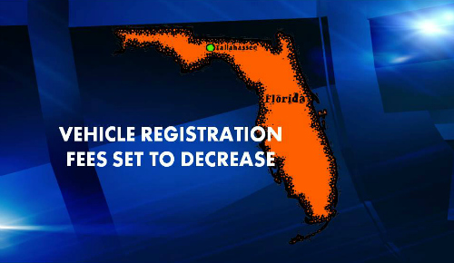 Vehicle registration fees set to decrease