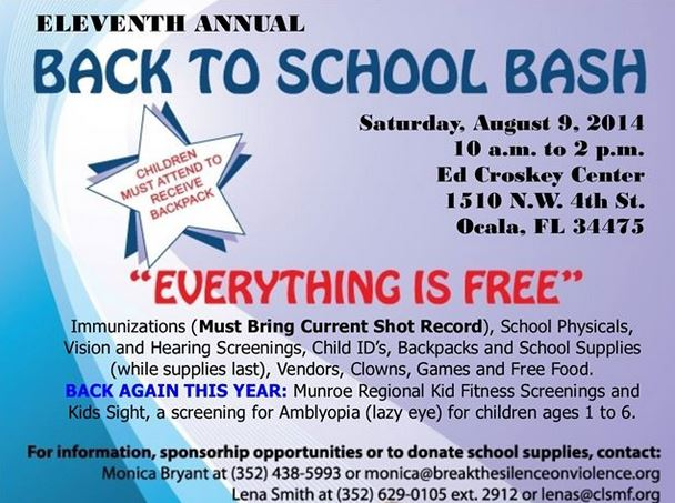 Ocala Post - Free school supplies, activities, and more