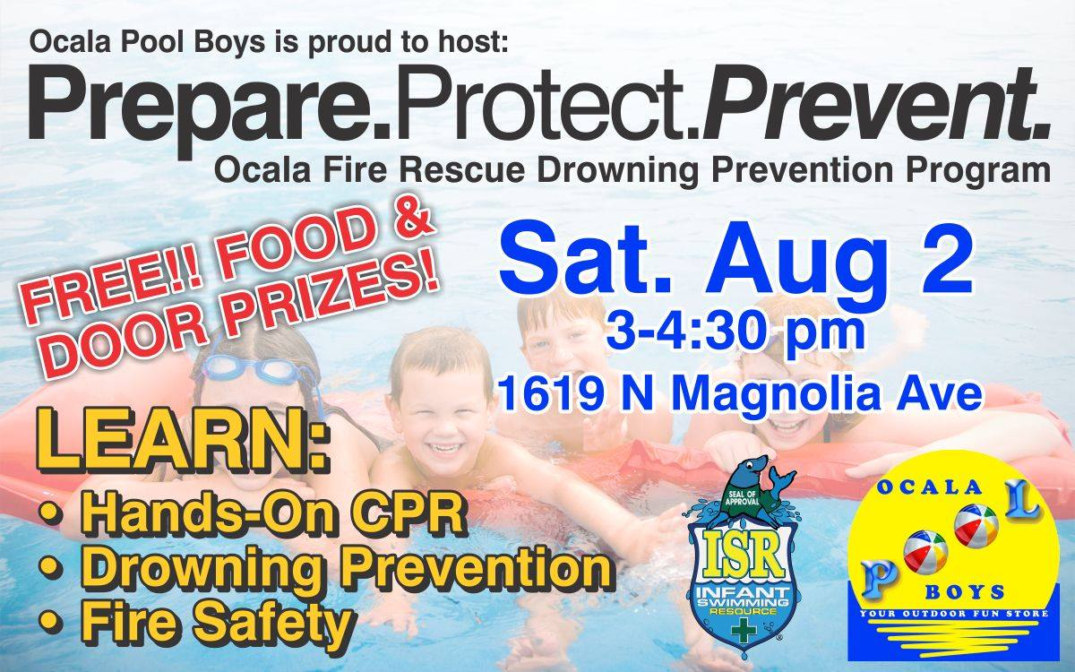 Free event in Ocala, Ocala Pool Boys, Swimming