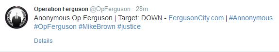 Operation Ferguson, anonymous