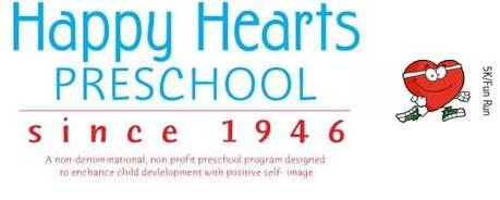 Happy Hearts Preschool 5K and Kids 1/2 mile Fun Run