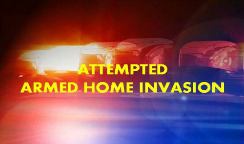 Attempted armed home invasion in Ocala