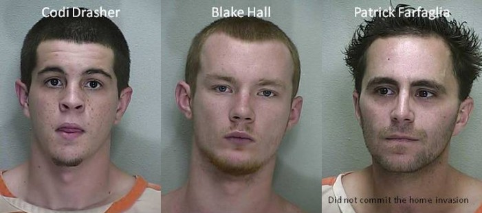 Home invasion and drive-by shooting in Summerfield