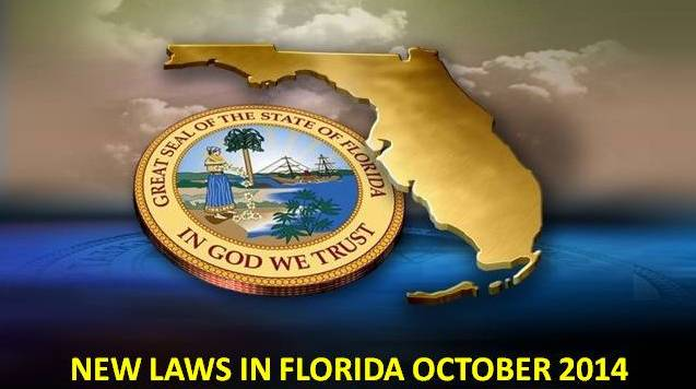 New laws that take effect October 1, 2014