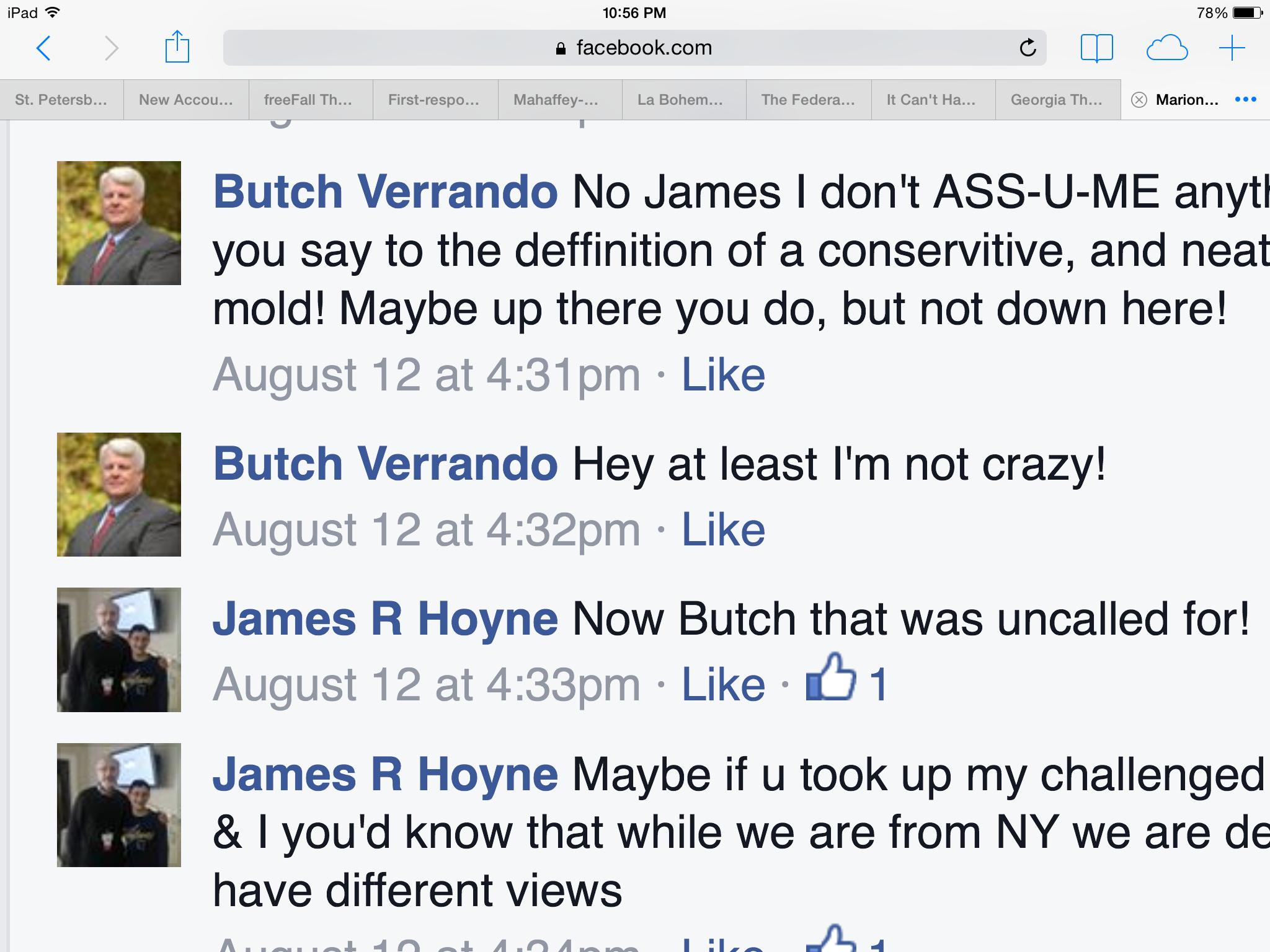 """Marcel """"Butch"""" Verrando"""