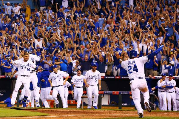 A win 29 years in the making for the Royals
