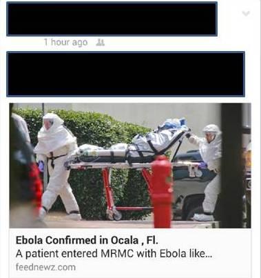Ebola in Ocala?