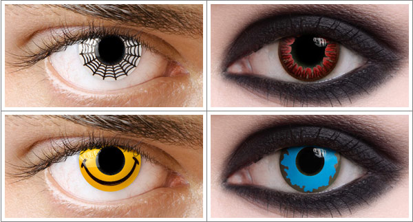 Warning from officials about Halloween contact lenses