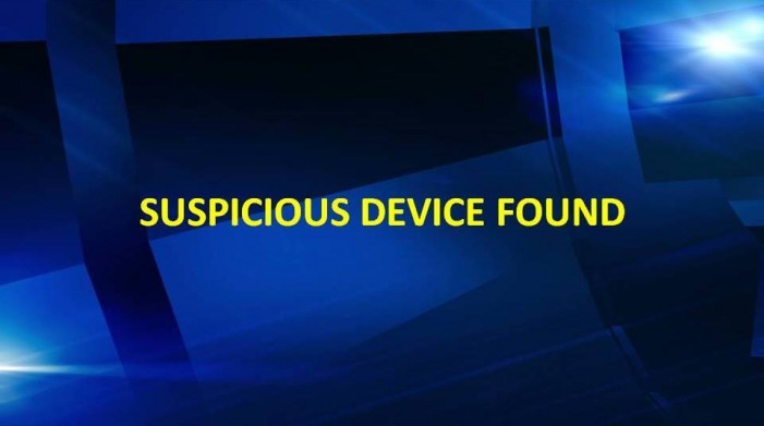 OPD: Suspicious device found