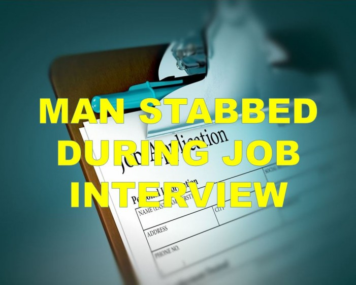 Man stabs business owner during job interview