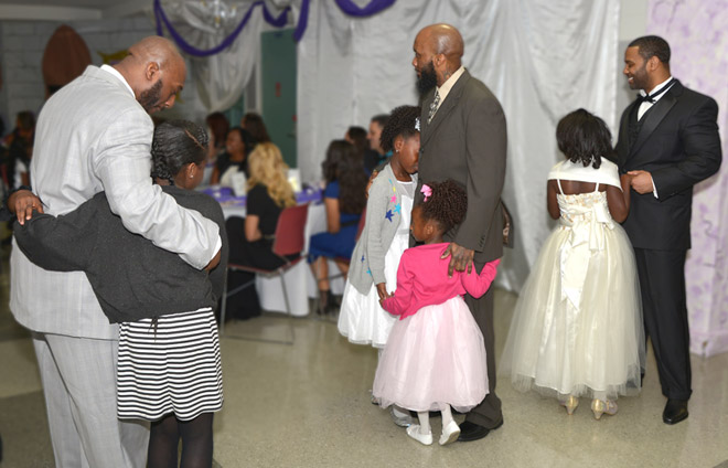 Federal prisoners allowed to attend formal Daddy-Daughter Dance
