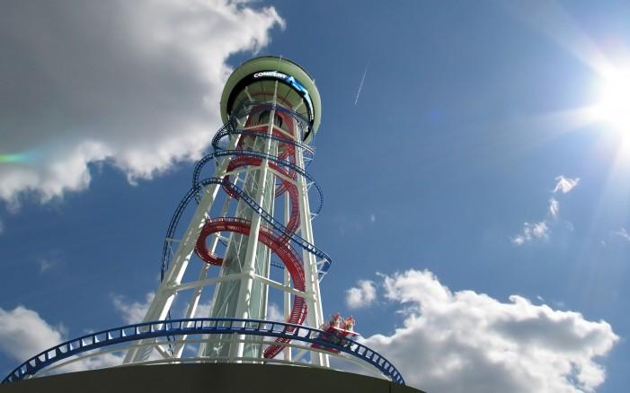 Video: Tallest roller coaster being built in Orlando
