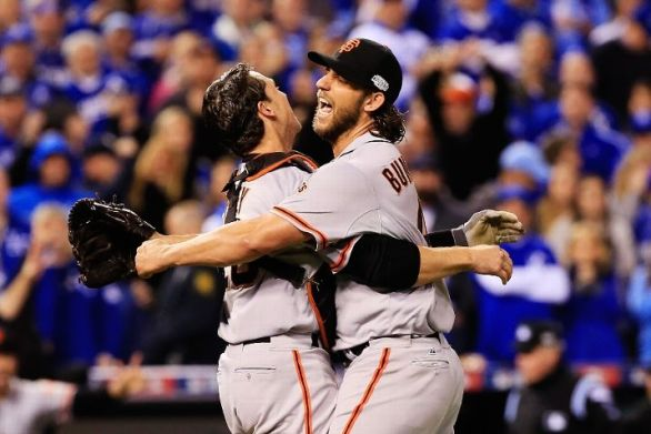 San Francisco Giants claimed their third World Series title in five years