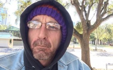 A teacher & military veteran has chosen Ocala to live homeless