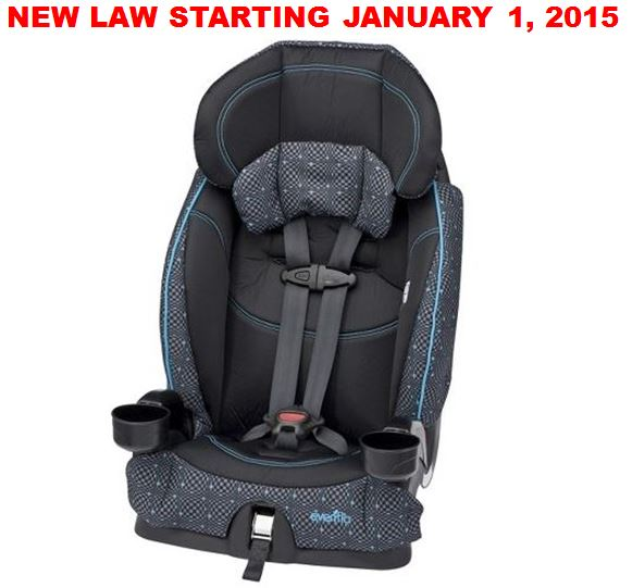 New booster seat law for children in Florida