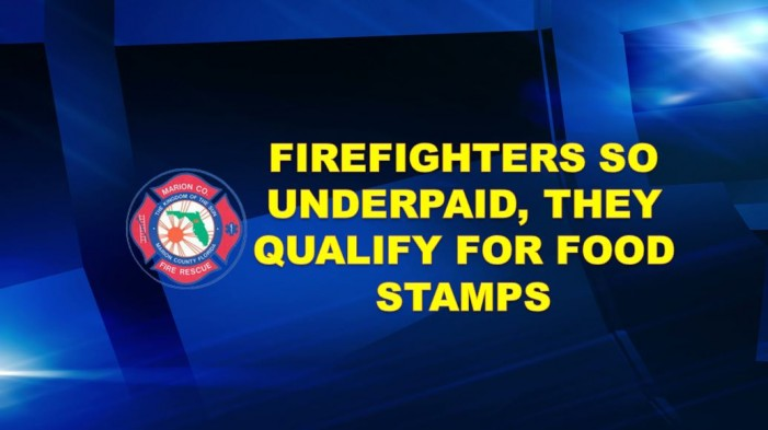 Firefighters qualify for food stamps; fed up and will protest