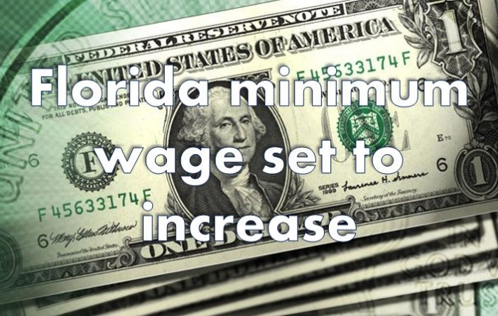 Florida's minimum wage will increase
