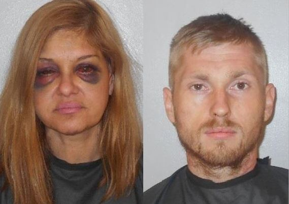 Woman that was beaten by boyfriend arrested