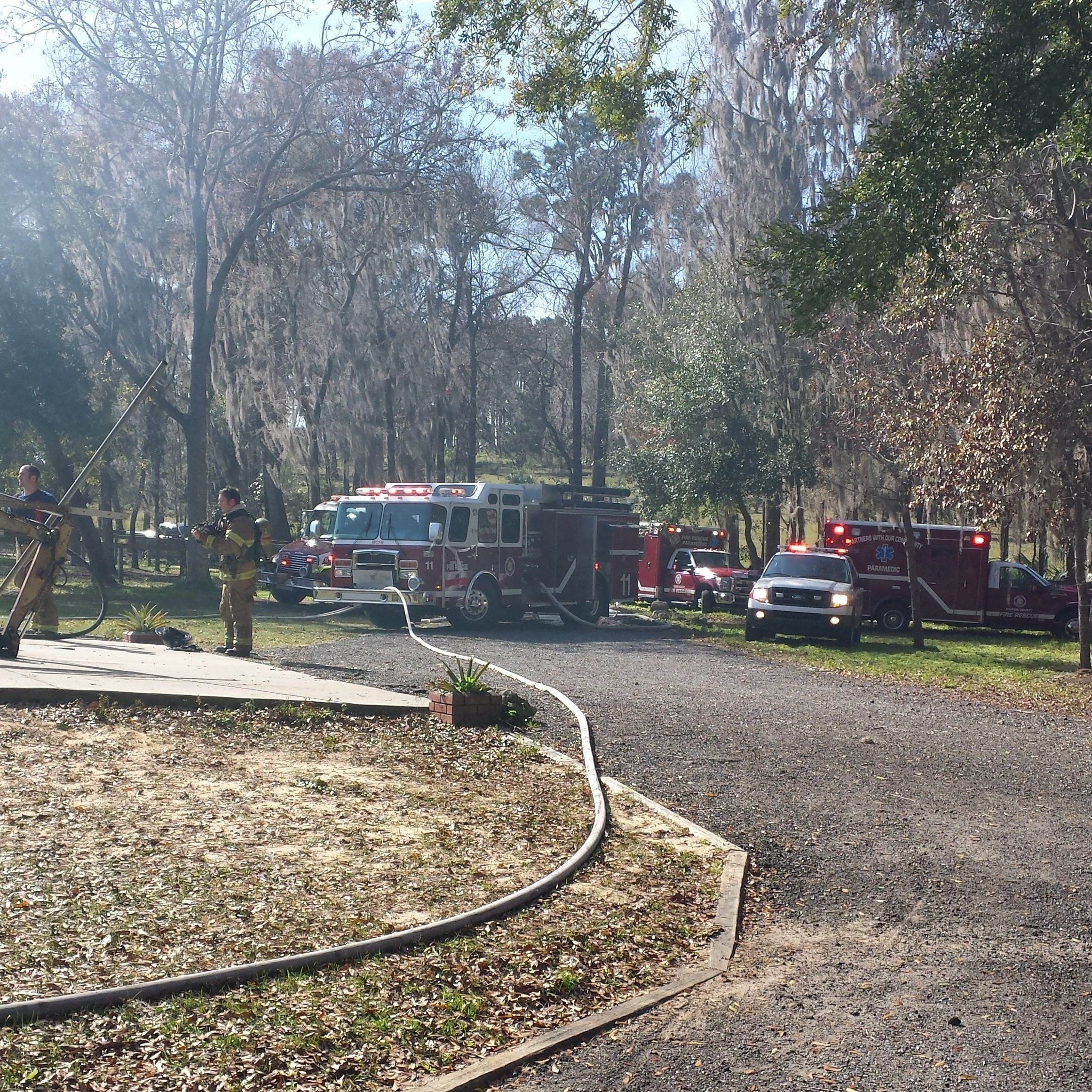 ocala news, MCFR, fire,