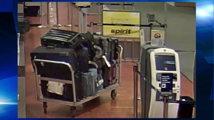 "Buzzing noise in airport luggage was ""personal item"""
