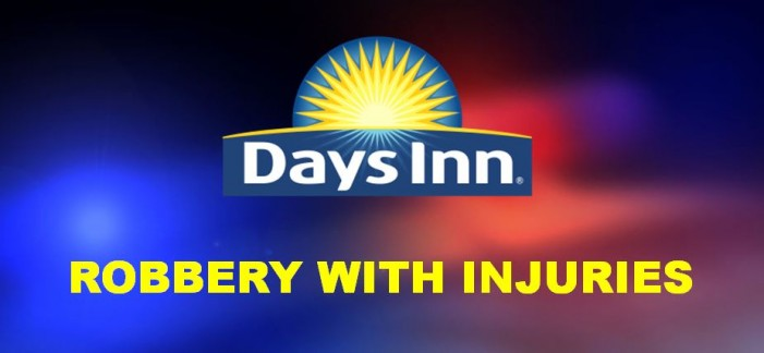 Days Inn clerk robbed and beaten