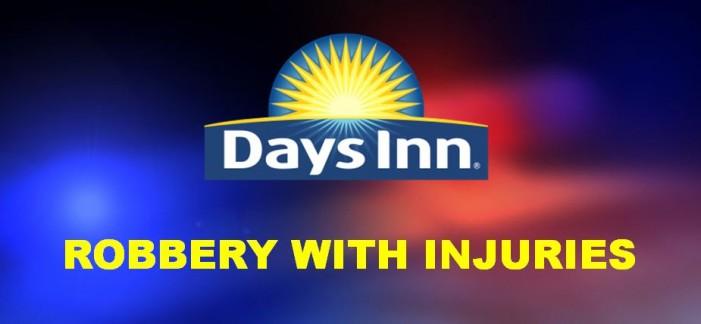 Days Inn clerk robbed and beaten