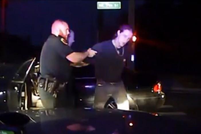 Drunk fell asleep at traffic light; pulled gun on deputy