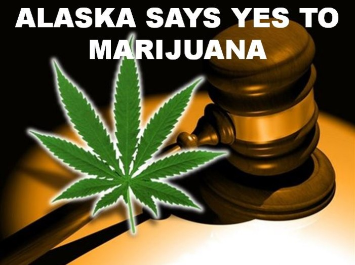 Recreational marijuana now legal in Alaska