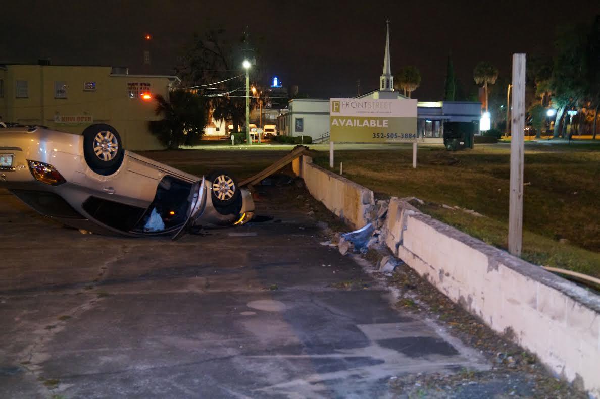 ocala news, shooting on pine, car crash